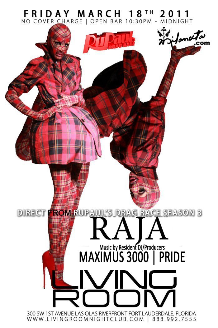 EVENTS: DJ/Producer Maximus 3000 U201cLiquid Fridays Presents: Raja From Ru  Paulu0027s Drag Raceu201d @ Living Room Nightclub , Fort Lauderdale FL 3 18 2011 Part 93