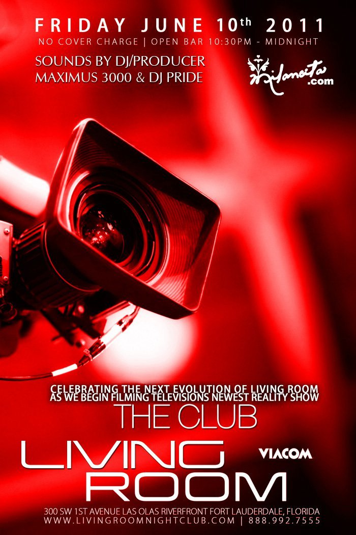 "EVENTS: DJ/Producer Maximus 3000 ""Liquid Fridays Presents ""The Club"" reality ..."